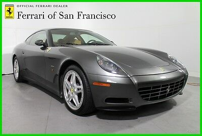 "2006 Ferrari 612 HGTS Package with 19"" Modular Rims 2006 F1A Used 5.8L V12 48V Automatic Rear-wheel Drive Coupe Premium"