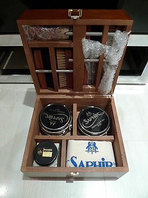 Saphir Medaille Valet Box Shoe Polish Kit BNWOT