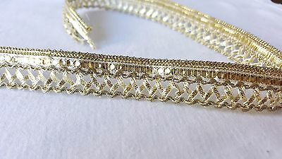 2cm- 1 meter Gorgeous gold edging lace trimming for crafts decor sewing