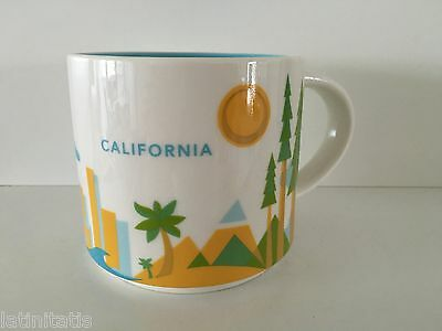CALIFORNIA Starbucks Tasse YAH-You Are Here Serie USA,NEU