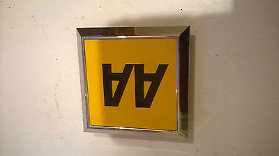 AA BADGE, Vintage, square, NO FITTINGS,BUT THE BEST CONDITION