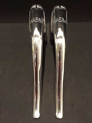 RARE! Mafac EARLY LOGO 40's 50's brakes levers leviers de frein vintage 2
