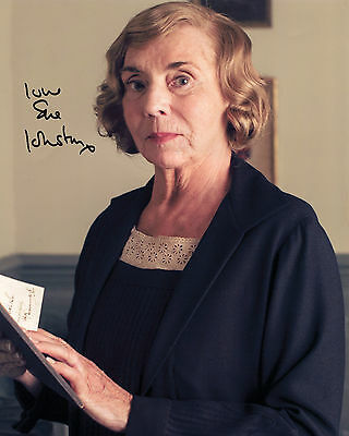 Sue Johnston - Miss Denker - Downton Abbey - Signed Autograph REPRINT