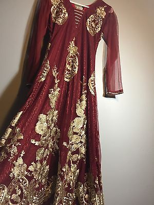 Salwar Kameez- Pakistani Indian  Ethnic Dress  Party wear  Bollywood Anarkali