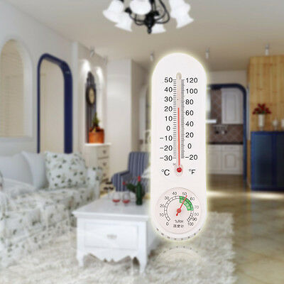 Analog Household Thermometer Hygrometer Wall-mounted Tester Humidity Measure