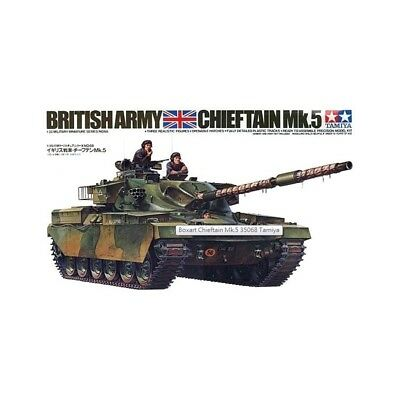 British Chieftain Mk. 5 Tank Assembly Kit Scale - 1/35Th