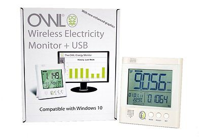 Owl CM160 + USB Wireless Electricity Electric Energy Monitor Smart Meter