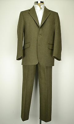 "42"" Regular Gamekeeper Country Check Tweed Suit Magee Geneva"