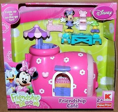 Disney Minnie Mouse & Daisy FRIENDSHIP IN BLOOM CAFE PLAYSET & 2 Figures Kmart