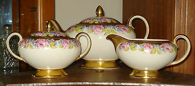 Sadler 3 piece Tea Set  - Teapot, Creamer/Milk & Sugar