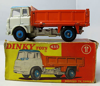Original (NOT ATLAS)  Dinky Toys 435 Bedford TK Tipper - Boxed (1653)