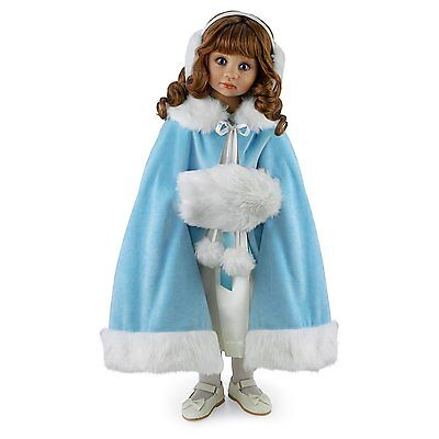 Child doll 25'' Victoria ''SEASONS OF INNOCENCE'' by Angela Sutter - winter