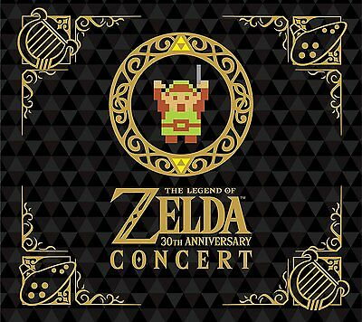 Pre The Legend of Zelda 30th Anniversary Concert 2CD+DVD Limited Edition Japan