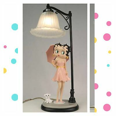 Authentic Betty Boop Parasol Lamp Collectible New In Box
