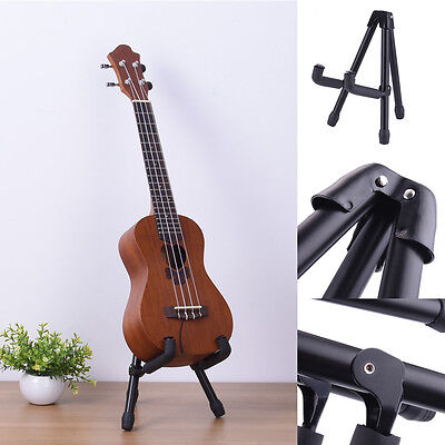 folding electric acoustic bass guitar violin holder a frame floor rack stand