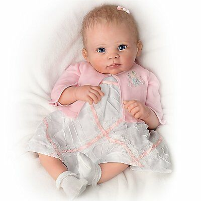Ashton Drake Baby Girl Doll - A MOMENT IN MY ARMS FOREVER by Linda Murray