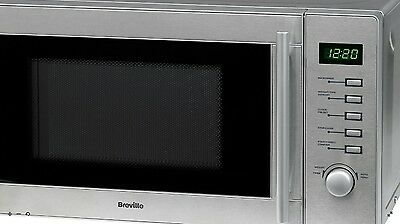 Breville VMW202 20L 800W Digital Stainless Steel Touch Control Microwave Silver