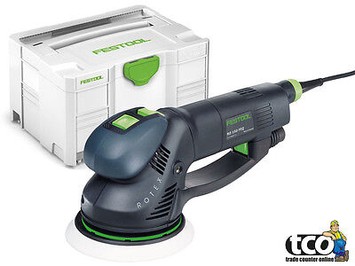 Festool ROTEX RO 150 FEQ-Plus GB 240V Sander in Systainer SYS 3 T-LOC - 571808