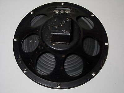 "Speaker DUAL CONE RARE Vintage 8"" inch diameter 8 ohms from the 1950s TESTED!"
