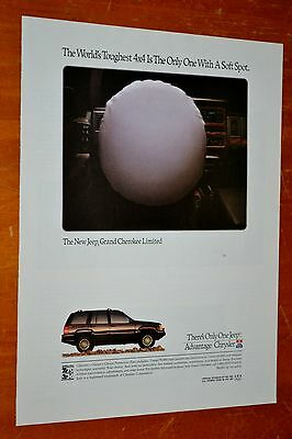 1992 Jeep Grand Cherokee Limited With Drivers Airbag - Retro 90S American