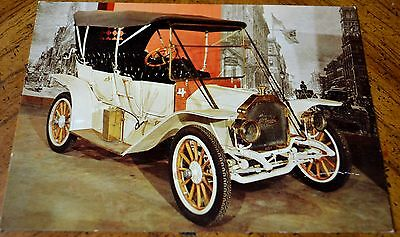 VINTAGE POSTCARD 1910 McGLAUGHLIN BUICK IN OTTAWA MUSEUM SCIENCE & TECHNOLOGY
