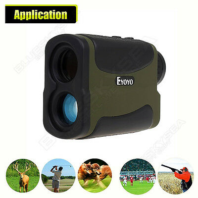 LOCAL! Hunting Golf Laser Range Finder 700M/Y Distance Speed Angle Measurement