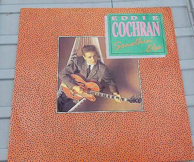 "Eddie Cochran - Somethin' Else 12"" Vinyl Record 1990s Single 1950s Rock n Roll"