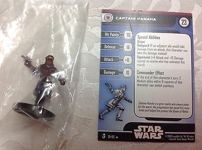 Star Wars Captain Panaka #22/60 new in bag with stat card