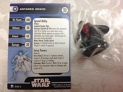 Star Wars Antares Draco #18/60 new in bag with stat card