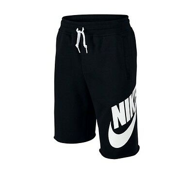 Nike Boys' Alumni Shorts Black, XS