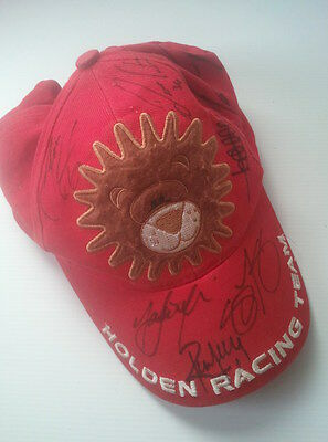 Genuine V8 Supercars HOLDEN RACING TEAM Hat / Cap - Kids Size - 7x Autographs!!!