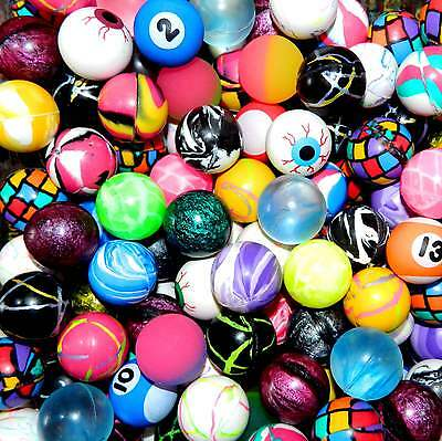 "2000 Bouncy Balls Premium Quality 27mm 1"" Vending Super Colorful RARE MIX!"