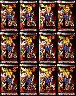 Dragon Ball Z ANDROID SAGA 12x Booster Pack Lot Sealed DBZ CCG Score NEW