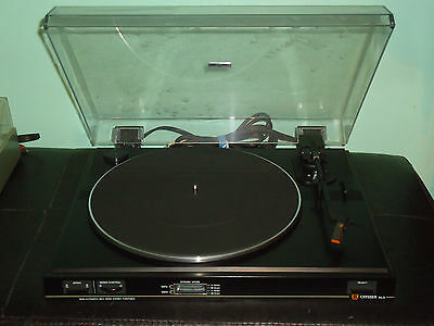 Citizen Dlx Turntable-New Cond.