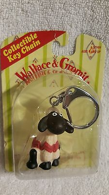 Wallace & Gromit Rare Keychain 1989 RARE Sealed