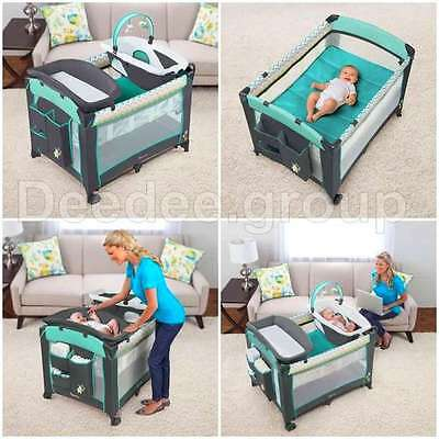 Baby Nursery Sleeper Crib Infant Sleeper Bassinet Playard Changing Table Bed NEW