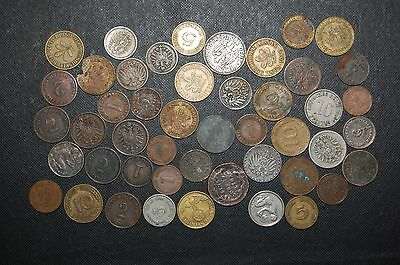 47 Pc Germany Coin Lot;1761-1973;bohemia,empire,weimar Republic,third Reich,more