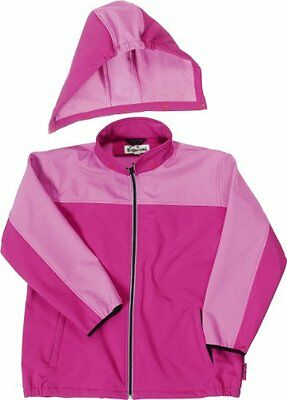 Rosa (Pink (730 rose/pink )) (TG. 92 cm) Playshoes - Giacca, cappuccio, bambini,