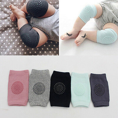 Baby Crawling Knee Pads Safety Elbow Cushion Knee Cap Infant Toddler Protectors
