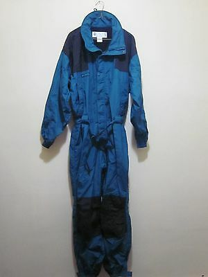 COLUMBIA SPORTSWEAR Mens Green SNOWSUIT jumpsuit Ski Skidoo snowmobile SUIT L