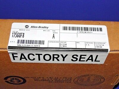 FACTORY SEALED Allen Bradley 1756-OF8 /A Analog Output ControlLogix  # 2