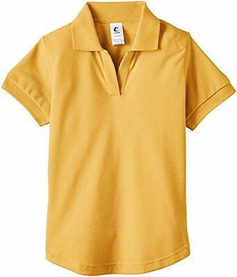 Gold (TG. 112 cm) Trutex Fitted Games Shirt-Polo Bambina    Gold 112 cm