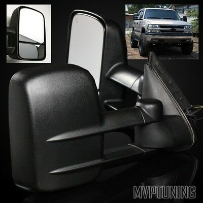 For 99-02 Silverado/Sierra Power Operated/Heated Defrost LH/RH Towing Mirrors