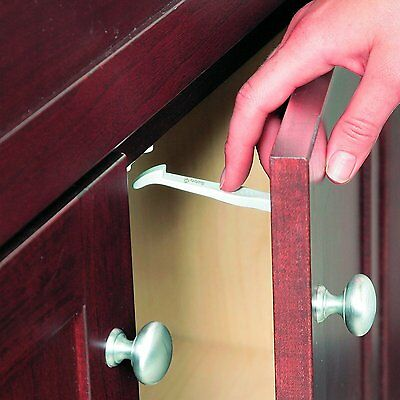 Safety 1st Cupboard Drawer Lock Secure Catches 7 Pack Safety Baby Child Proofing