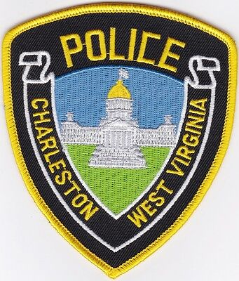 Charleston Police West Virginia WV patch NEW