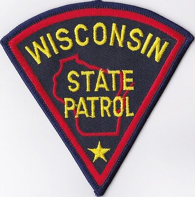 Wisconsin State Police patch NEW