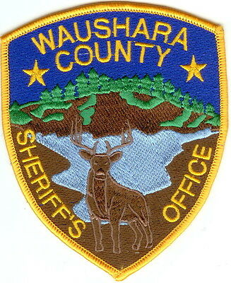 Waushara Sheriff`s Office  Wisconsin WI Patch NEW