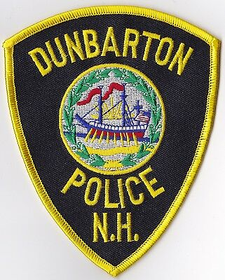 Dunbarton Police Patch New Hampshire NH NEW!!