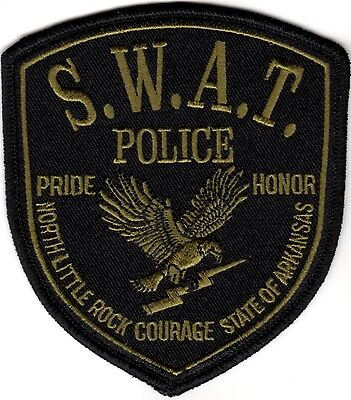 North Little Rock Police SWAT Arkansas patch NEW