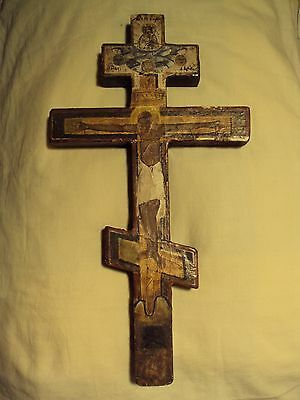 Antique russian cross, 17-18th century